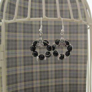 Black Onyx Earrings by Indigo Berry