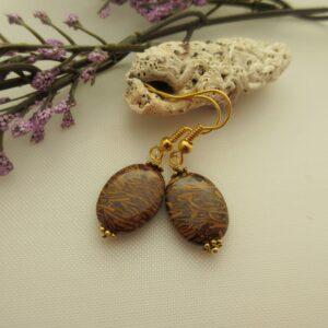 Mariam Jasper Earrings by Indigo Berry