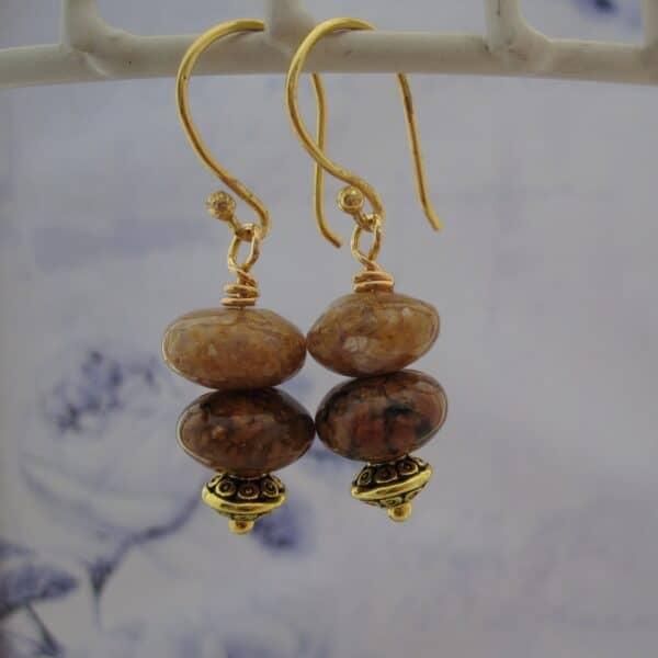 Woodland Jasper Earrings by Indigo Berry