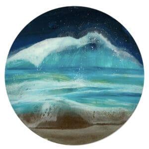 Folding waves painting