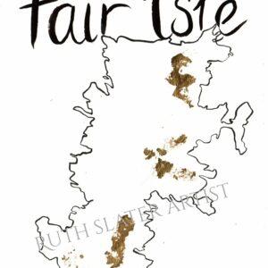 Fair Isle Original with Gold Leaf