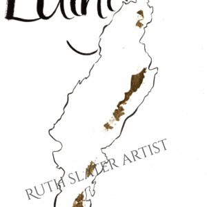 Isle of Luing with Gold Leaf