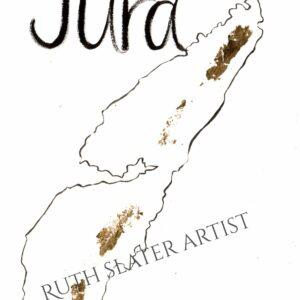 Isle of Jura Original with Gold Leaf