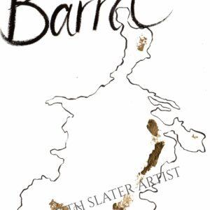 Isle of Barra with Gold Leaf