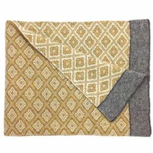 Yellow Ochre Wool Wrap